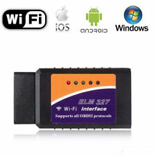 ELM327 WIFI Wireless OBDII OBD2 Car Diagnostic Scanner Adapter for iPhone iPod B