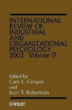 International Review of Industrial and Organizational Psychology, 2002 (Volume 1