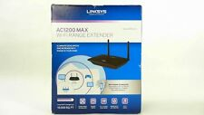 Linksys AC1200 MAX Wi-Fi Range Extender / Repeater (RE6500)