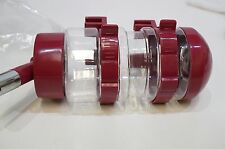 NACOCO Water Bottles Pet Drinking Fountains Small Dog / Animal Cage Mount - Red