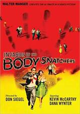 INVASION OF THE BODY SNATCHERS (Kevin McCarthy) - DVD - Region 1