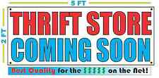THRIFT STORE COMING SOON Banner Sign NEW Larger Size Best Quality for the $$$