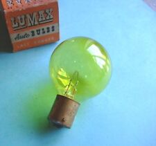 6 Volt 36 Watt Yellow SCC Lucas 374 headlight bulb Vintage cars