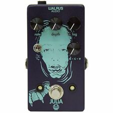 Walrus Audio Julia Analog Chorus Vibrato Lag LFO Wave Shape Guitar Effects Pedal