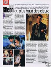 Coupure de presse Clipping 1999 Mel Gibson  (1 page)
