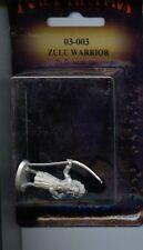 Ral Partha Classic Zulu Warrior W/ Spear mini MINT IWM