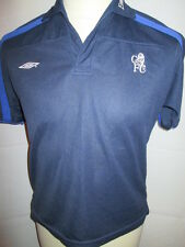 Chelsea Training Leisure Supporters Football Polo T Shirt Extra Large Boys