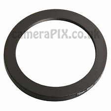 72mm to 58mm Male-Female Stepping Step Down Filter Ring Adapter 72-58 72mm-58mm
