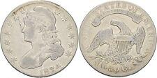 USA 1/2 Dollar (50 Cent) 1834  Silber Liberty Halfdollar #toddx100