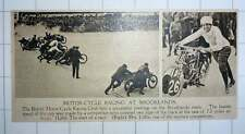 1920 Motorcycle Racing At Brooklyn's Mrs Udhe Woman Competitor