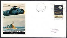 APOLLO 12 SPLASHDOWN & RECOVERY Folio-Print Cachet 1969 Space Cover