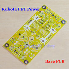 Kubota FET High Voltage Adjustable Filter Regulator Pre-amplifier Power Bare PCB