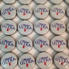 LOT OF 100 MICHELOB ULTRA BEER BOTTLE CAPS  NO DENTS