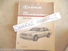 1994 LEXUS GS300 Electrical Wiring Diagram Service Manual OEM