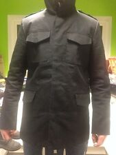 Mens REISS Black Casual Jacket Coat Size M
