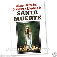SANTA MUERTE Altares,Ofrendas,Oraciones y Rituales (Spanish) Santisima Contactar