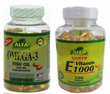 OMEGA 3+100 VITAMIN E ,OMEGA 3 XL 100 SOFTGELS concentrated Anti Inflammatory