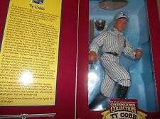 TY COBB 12 INCH STARTING LINEUP COOPERSTOWN COLLECTION , CLOTH CLOTHES, MIB