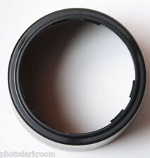 "2 3/8"" Bayonet Mount - Unknown Make - 3"" OD 2.25"" Deep Lens Hood Shade USED H39"