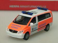 Herpa Mercedes Vito Bus NEF Feuerwehr HÜRTH - 091985 - 1/87