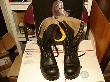 1956 MILITARY BOOTS INTERNATIONAL SHOE CO 7-1/2 W 6156 IMPRINTED