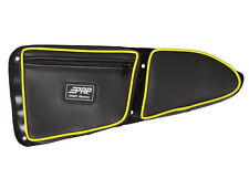 PRP Door Bag w/ Knee Pad for Polaris RZR 1000 XP 900 S, PAIR - Lime Green Piping