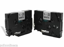 2 pack compatible  Brother TZ 231 P-Touch label tape
