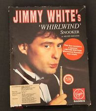 Jimmy White 's Whirlwind Snooker Amiga Computer Game Complete with Chalk