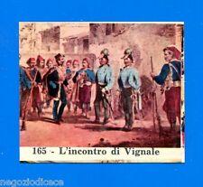 CENTENARIO UNITA D'ITALIA - Figurina-Sticker n. 165 - L'INCONTRO DI VIGNALE -Rec