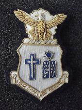 (A28-28)US Chaplain Service Militärpfarrer Abzeichen alt selten WWII