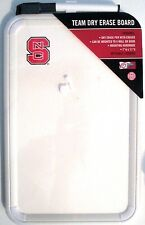 NC STATE WOLF PACK Team Dry Erase Board w/ Pen & Mount FREE U.S. SHIP New !