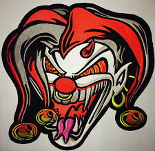 The Joker BIKER ROCKERS JACKET jumbo LARGE PATCH EMBROIDERY Iron on PATCH