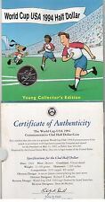 USA UNITED STATES – HALF DOLLAR 1/2 $ UNC COIN 1994 SOCCER FOOTBALL MINT PACK