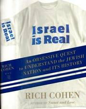 HISTORY ISRAEL IS REAL OBSESSIVE QUEST TO UNDERSTAND JEWISH NATION COHEN H/C D/J