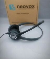 Noise Canceling Call Center Headset ,NX360 Binaural with 2.5 mm jack