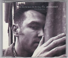MORRISSEY - THE MORE YOU IGNORE ME,THE CLOSER I GET 3 TRACK MAXI CD 1994