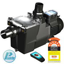 Poolrite SQ/SQI Gemini Energy Efficient ECO Pool Pump. Super Quiet, Remote, 7 St