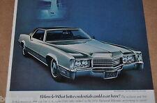 1970 Cadillac advertisement page, CADILLAC ELDORADO, silver 2-door