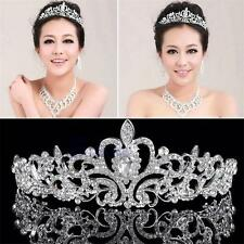 Stunning Lady Bridal Princess Austrian Crystal Hair Tiara Wedding Crown Headband