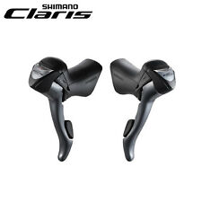 New Shimano Claris ST-2400 STI 2x8-speed Shifter Levers Set L+ R Road Bike