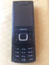 Nokia Slide 6500 - Black (Unlocked) Mobile Phone
