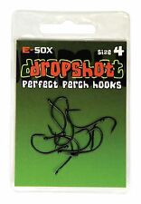 Drennan E-sox Dropshot Hooks size 4 Perfect Perch Hooks