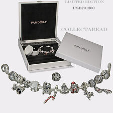 Authentic Pandora Silver 12 days of Christmas 2013 Design box  *Limited Edition*