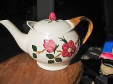 RARE HERBERT AYNSLEY HAND MADE HAND PAINTED TEAPOT OLD BARONIAL BOLD DESIGN