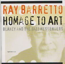 RAY BARETTO    CD  HOMAGE TO ART