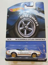 HOT WHEELS 2015 REAL RIDERS #16/18 '68 OLDSMOBILE CUTLASS CONVERTIBLE