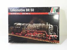 Italeri Steam Locomotive BR 50 #8702 1:87(HO) Scale Plastic Model Kit MIB