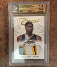 2012-13 Panini Crusade Paul George Quest Prime Jersey Jersey /25 BGS 9.5 PACERS