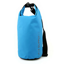 Buhbo Waterproof Dry Bag for Kayaking Gym Canoe Duffle Camping, 5 Liter Blue