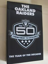 Oakland Raiders 2009 Official NFL Media Guide-50th Anniversary